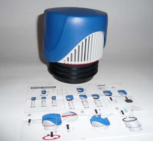 abwasser rohrbel fter abu ventilair dn 70 80 110 ebay. Black Bedroom Furniture Sets. Home Design Ideas