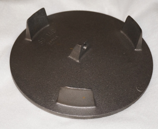 Abgas Strahlplatte ohne Haken für Forsterheizung (d=250mm)
